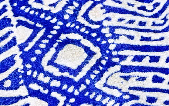 Tissu Indigo batik inspiration pour Ergobaby Omni 360
