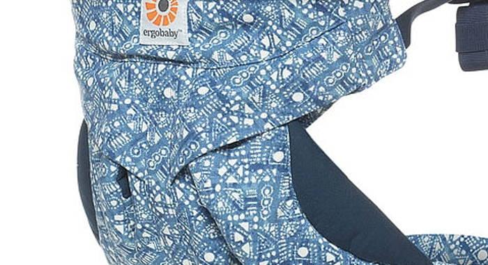Tissu indigo Batik Ergobaby