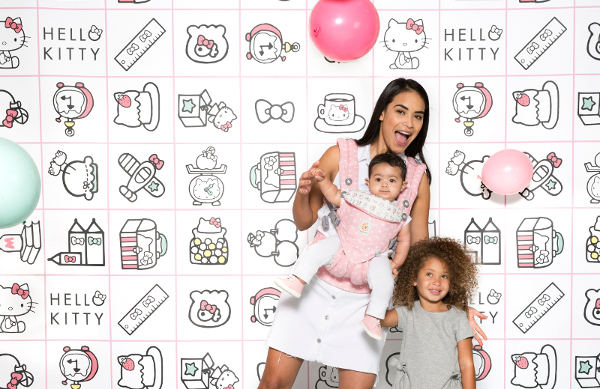 Ergobaby Rose play time pour fille