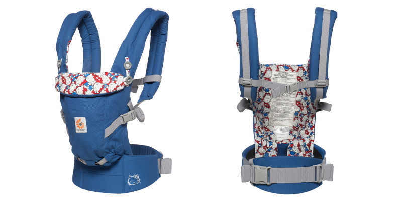 Ergobaby adapt Bleu classic Hello Kitty