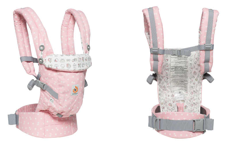Porte-bébé Ergobaby adapt Hello Kitty rose play time