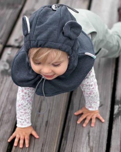 photo bébé cagoule