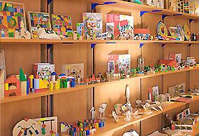 jouets en bois de qualité goki