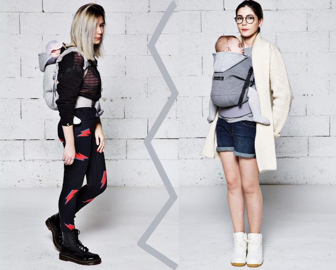 Hoodiecarrier porte-bébé physiologique