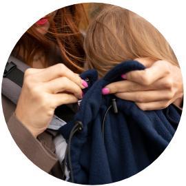 clips d'attache couverture
