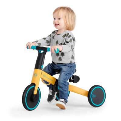 Kinderkraft 4Trike Vélo évolutif - trotteur à partir de 12 mois et jusqu'à environ 2 ans