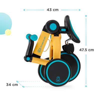 Kinderkraft 4Trike Vélo pliable et ultra compact