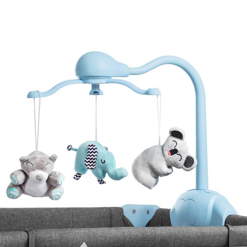 Kinderkraft Joy 2 en 1 Lit de Voyage avec carrousel