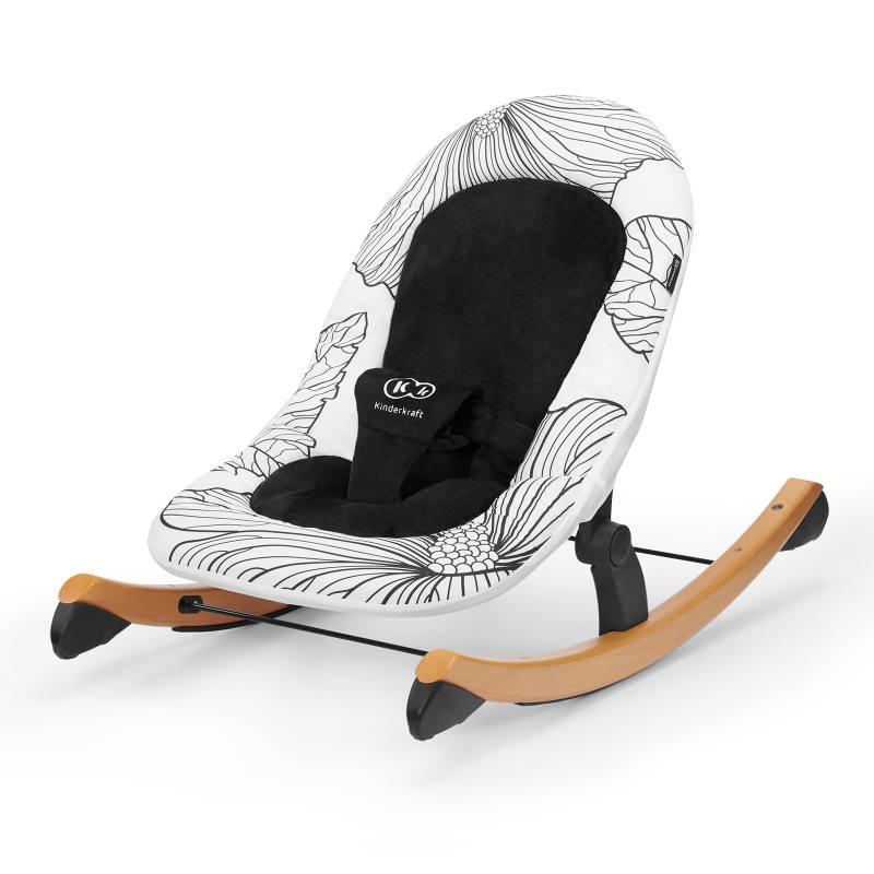 Kinderkfrat chaise FINIO noir et blanc