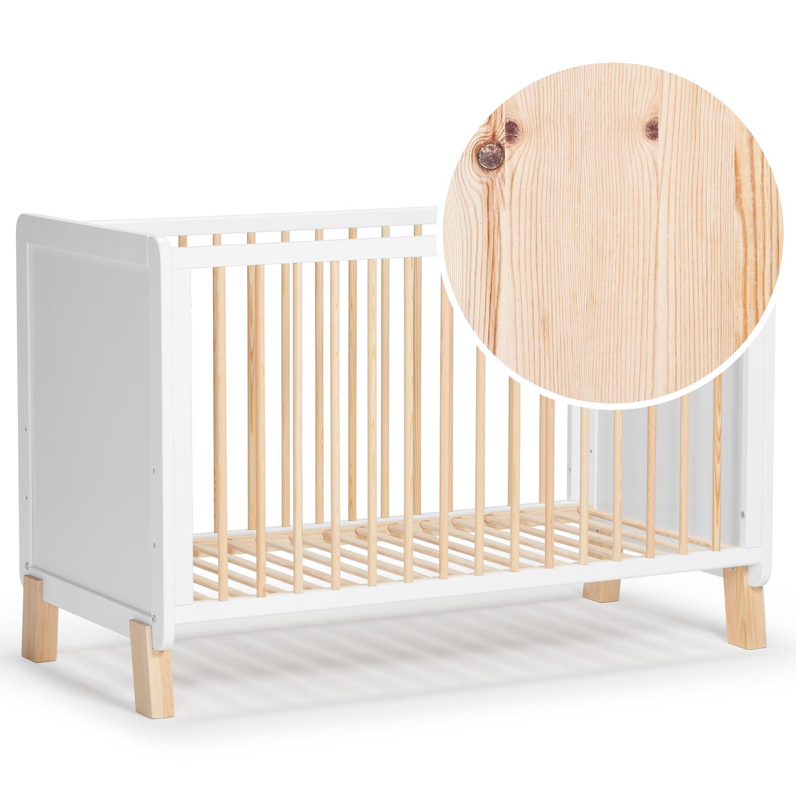Lit NICO Kinderkraft conçu en bois de pin