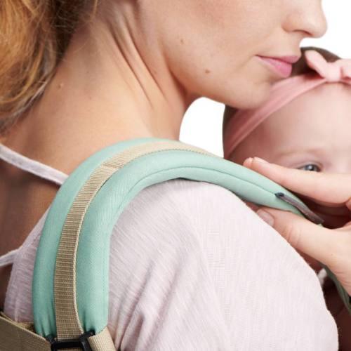 KinderKraft NINO mint porte-bébé avec bretelles rembourrées