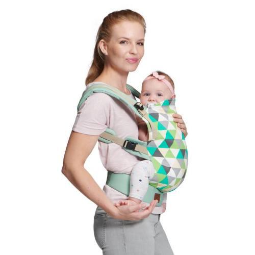KINDERKRAFT NINO VERT - PORTE-BÉBÉ ventre contre ventre