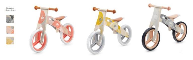 Kinderkraft Runner Draisienne en bois - 3 models
