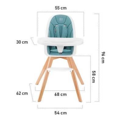 Dimensions de la chaise TIXI