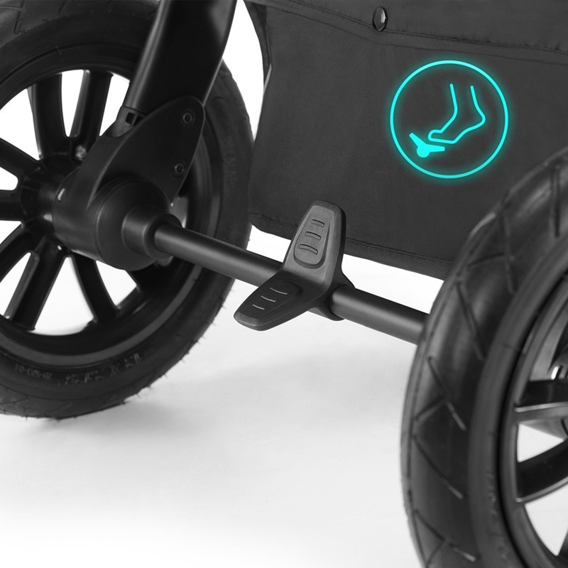Poussette xMoov Kinderkraft frein stop & ride