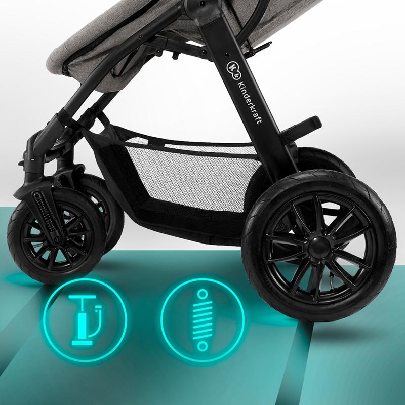 Poussette Xmoov Kinderkraft roues