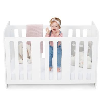 Kindekraft Stello lit bébé en bois reglable