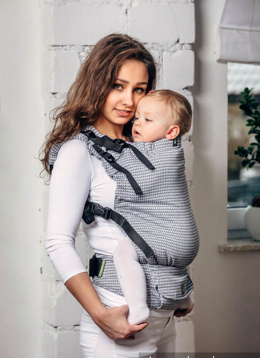 Porte-bébé LennyUp Selenite Lennylamb