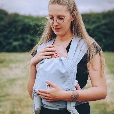 limas baby carrier sky porte-bebe physiologique en coton bio