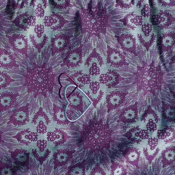 Taïga purple LL4 P4 jacquard