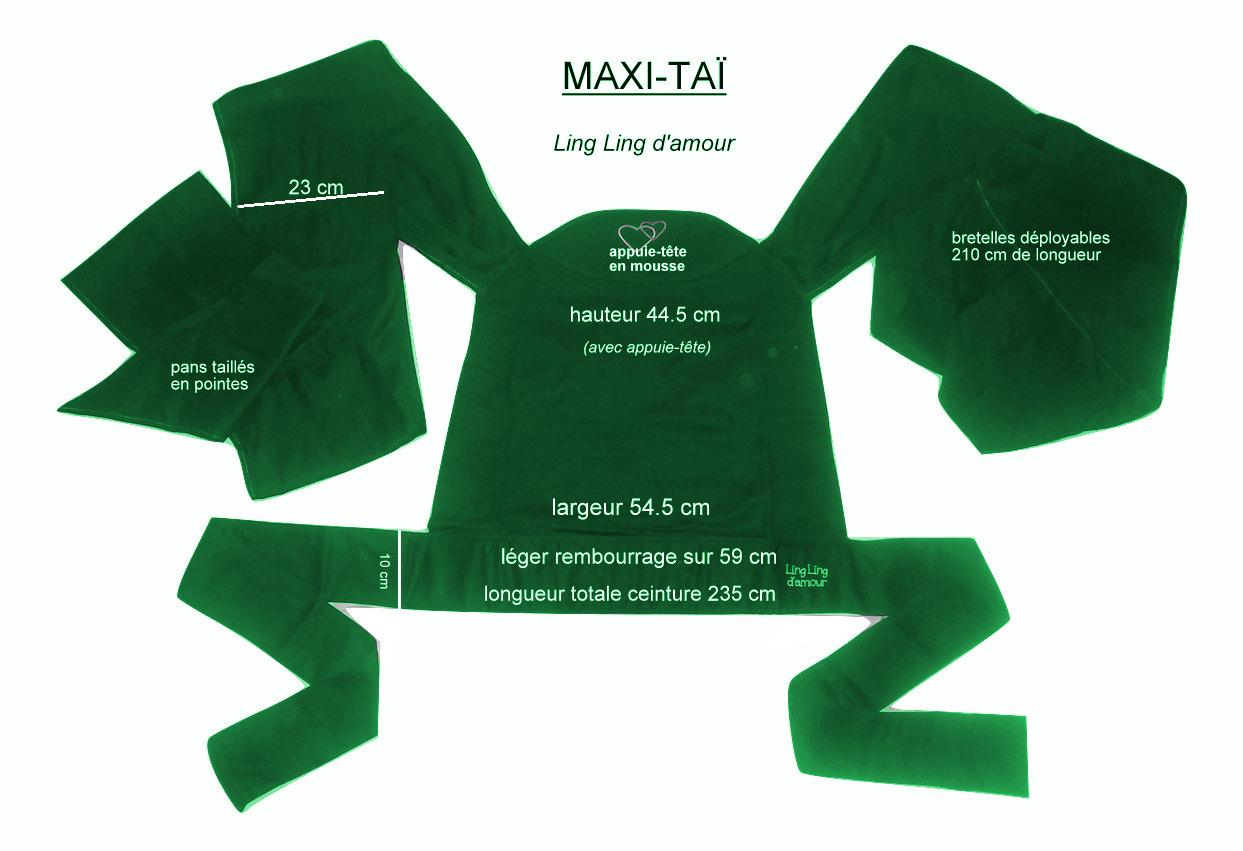Caractéristique maxi-taï d evergreen e Ling ling d'amour