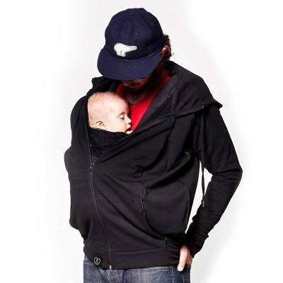 Sweat du Parent Love Radius en situation avec porte-bébé