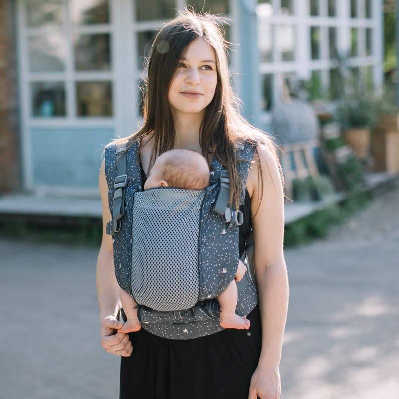 Love and Carry ONE+ Cool Birds porte-bébé physiologique dès la naissance