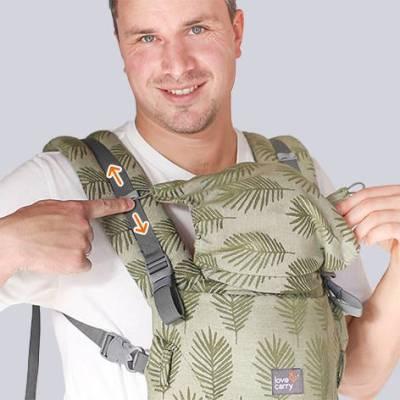 Love & Carry ONE + capuche détachable