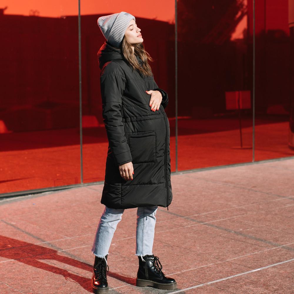 manteau de grossesse noir hiver