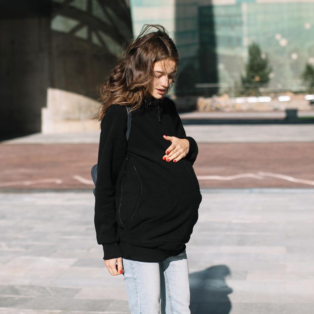 veste en molleton grossesse