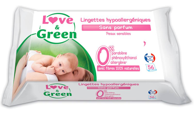 lingettes lavables love and green