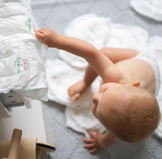 Les couches Love and Green, les bébés en raffolent