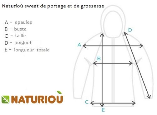 size chart Naturiou