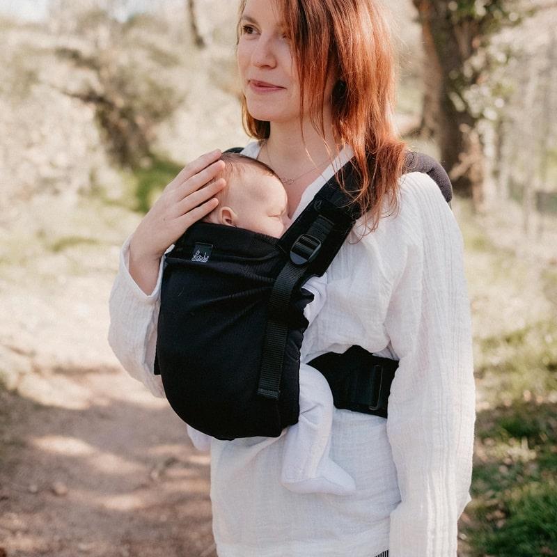 Néobulle My Néo Noir porte-bébé nouveau-né
