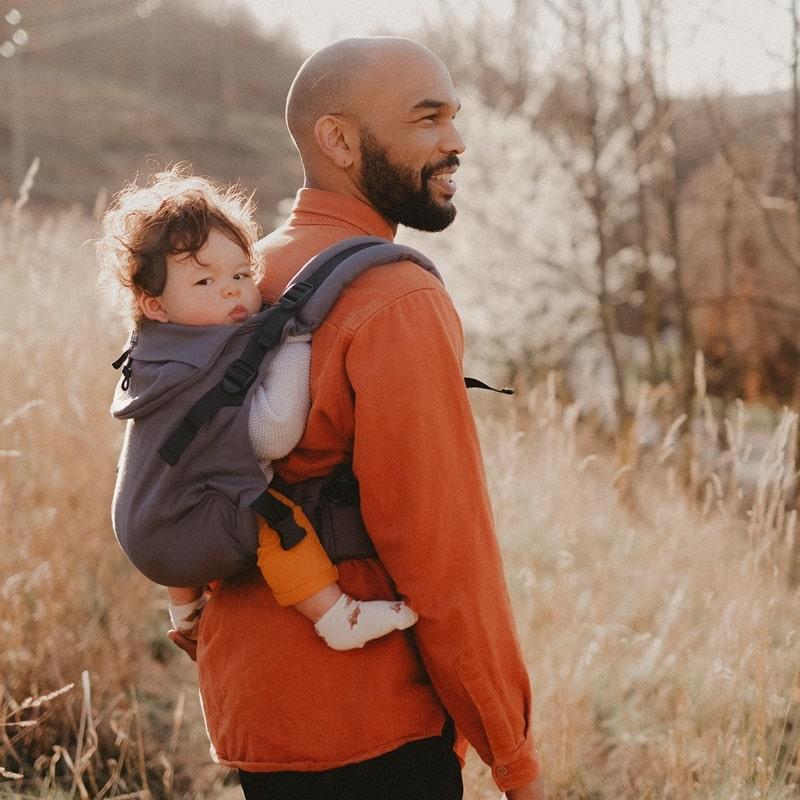 Néobulle Néo+ Galet porte-bébé physiologique évolutif