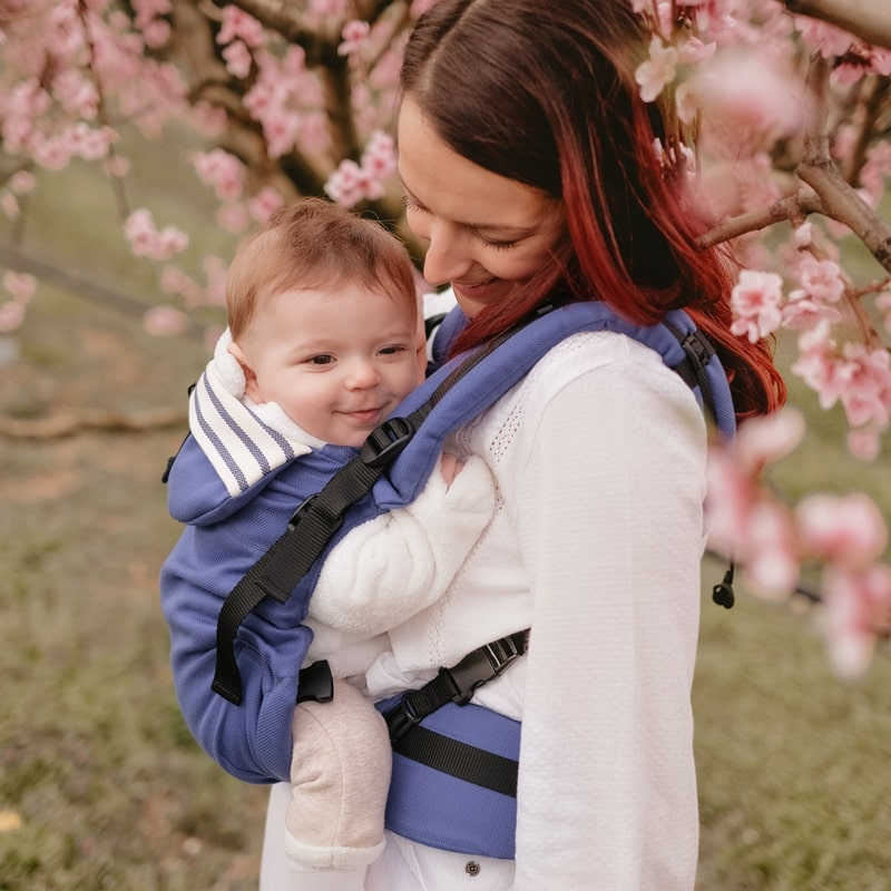 Néobulle Néo+ Marin porte-bébé physiologique évolutif