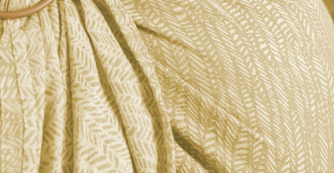 Tissu de l'écharpe Néobulle Seacell taupe