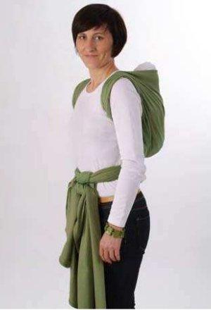 noeud de portage storchenwiege sac à dos dans le dos