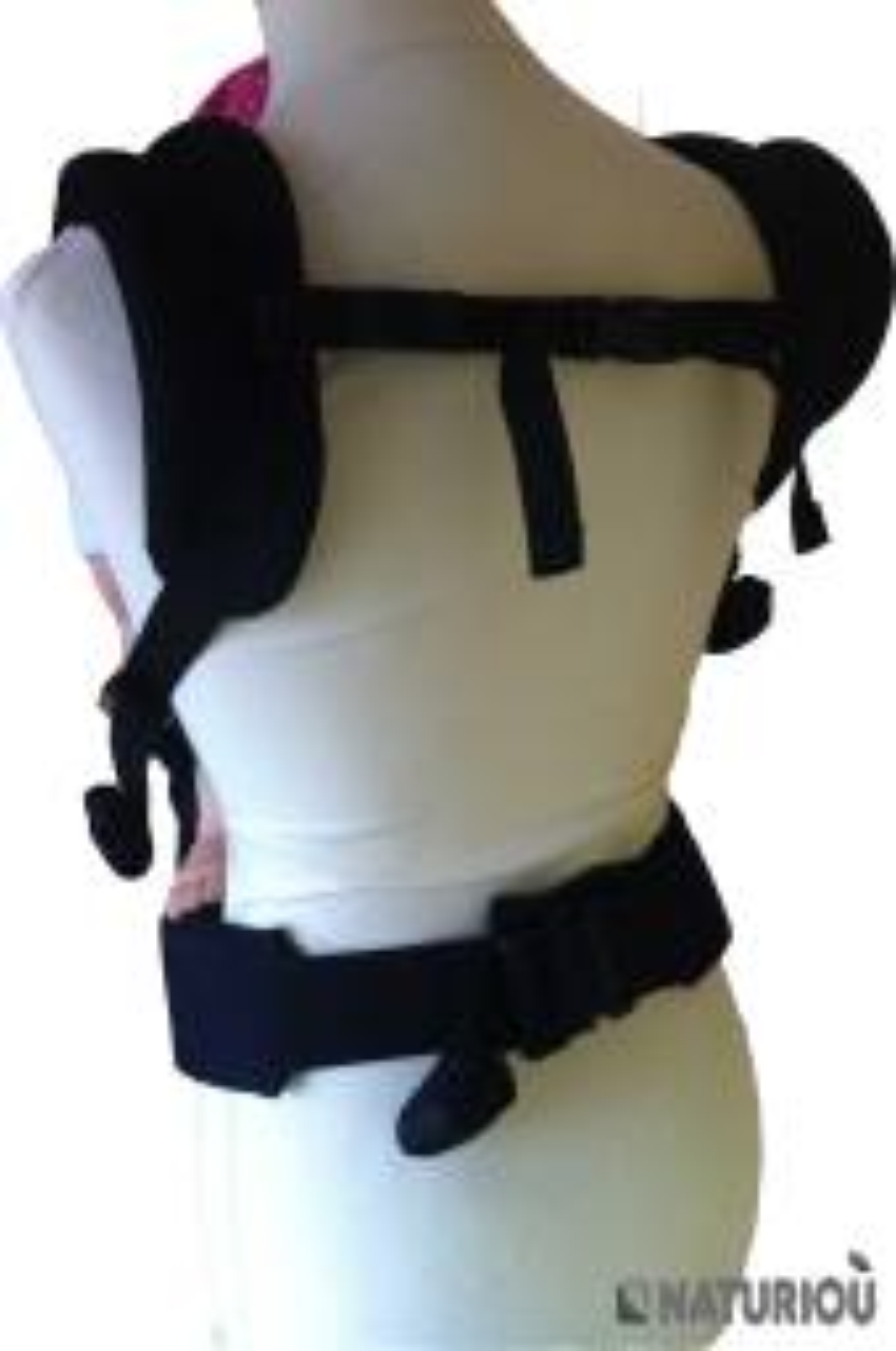 Portage ventral et dorsale avec votre préformé PhysioCarrier