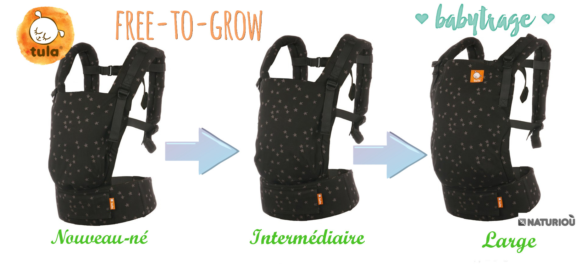 Porte-bébé Tula Free-to-grow Inquire