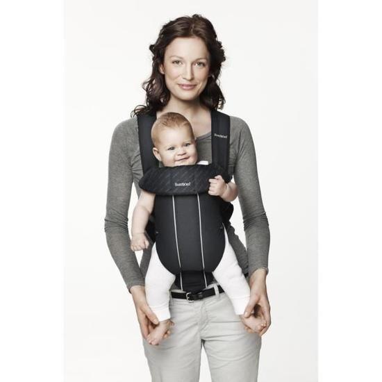Position face au monde porte-bébé non physiologique
