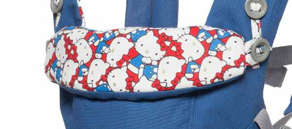 Motifs Hello Kitty classic bleu Adapt