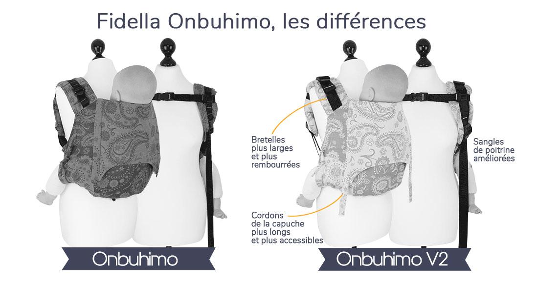 Différences entre onbuhimo V2 et V2 Fidella