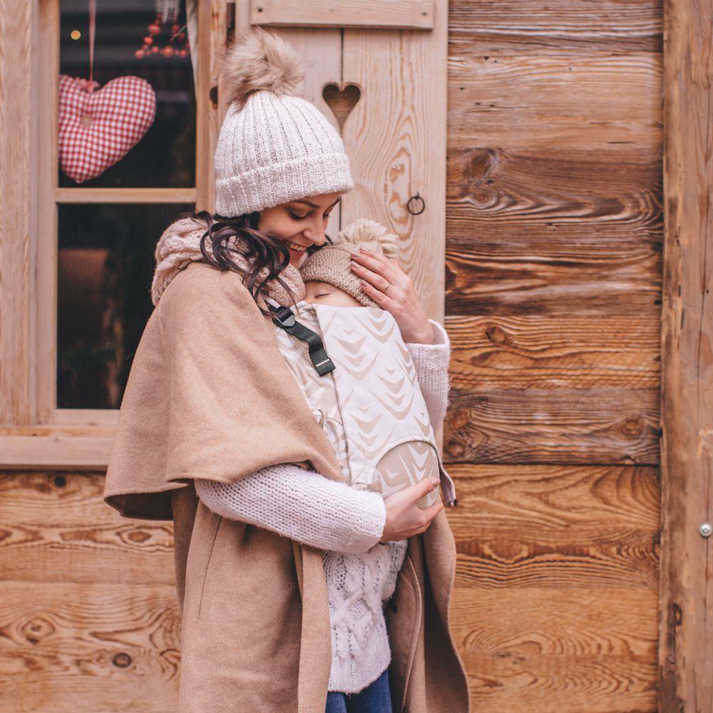 porte-bébé zen latte macchiado laine fusion fidella