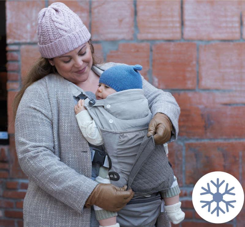 Infantino porte-bébé In Season 5 Layer hiver et froid