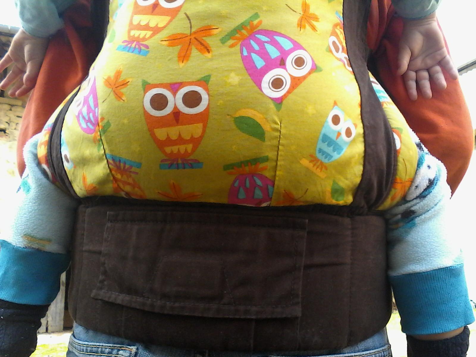 ceinture Tula toddler et poche