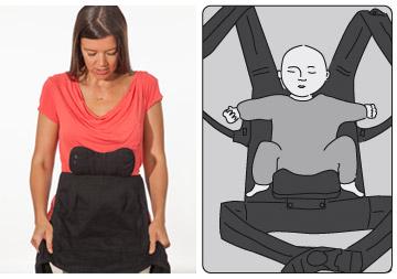 porte-bébé ergonomqiue Boba 4 G
