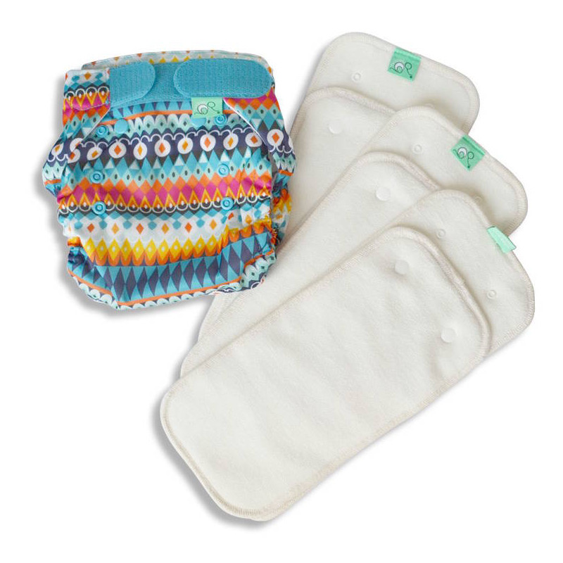 Totsbots kit d'essai couches lavables TE2 Peenut