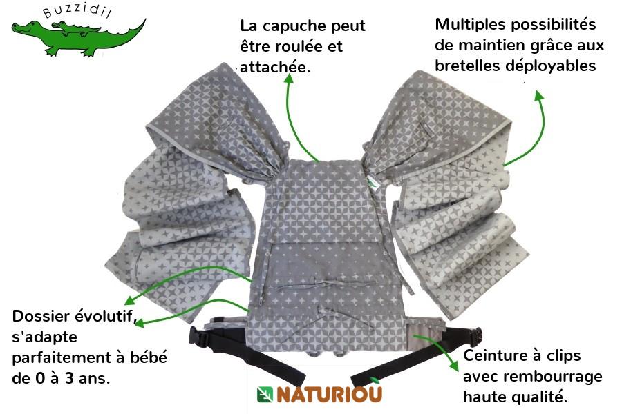 porte-bébé wrapidil de Buzidil